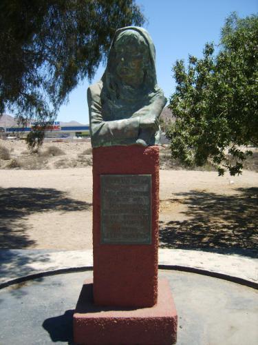 Busto  Cile Antofagasta Piazza Giordano Bruno